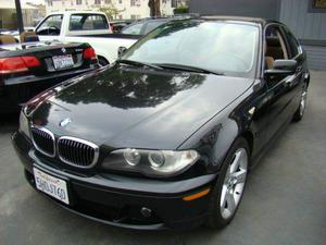 BMW 3 Series 325Ci - 325Ci 2dr Coupe