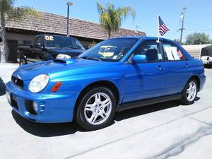 Subaru Impreza WRX - AWD 4dr WRX Turbo Sedan