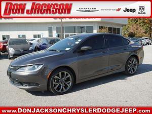Chrysler 200 S - S 4dr Sedan