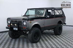 International Harvester Scout 2 OWNER. 64K. V8.