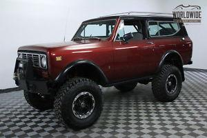 International Harvester Scout RESTORED CUSTOM 4X4 1K