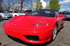 Ferrari 360 Spider - 2dr Convertible