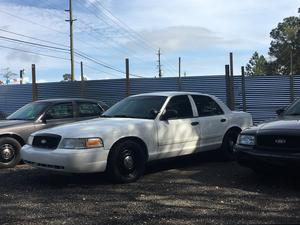 Ford Crown Victoria Police Interceptor in Panama City