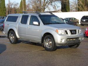 Nissan Frontier PRO-4X - 4x4 PRO-4X Crew Cab Short Bed