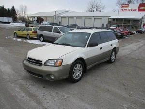 Subaru Outback - AWD 4dr Wagon w/Weather Pkg