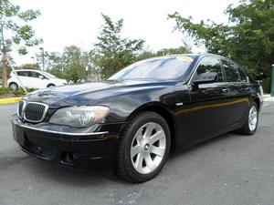 BMW 7 Series 750i - 750i 4dr Sedan