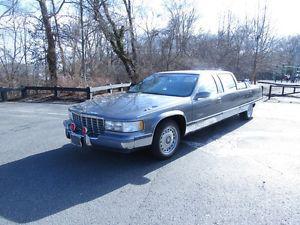 Cadillac Fleetwood Phaeton Parade Limousine Leather