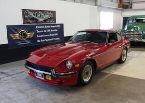 Datsun 240Z - No trim field