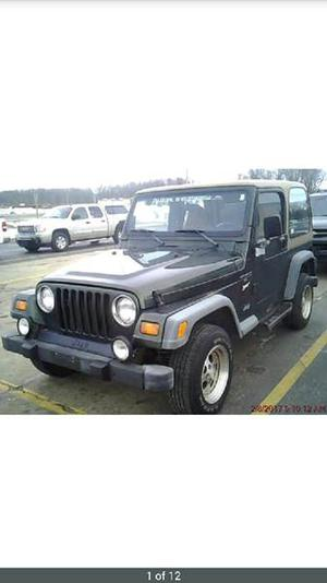 Jeep Wrangler Sport - 2dr Sport 4WD SUV
