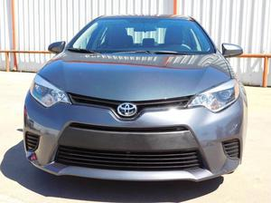 Toyota Corolla - L 4dr Sedan 4A