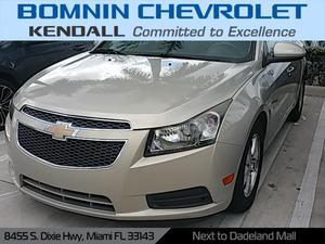 Chevrolet Cruze LT - LT 4dr Sedan w/1LT