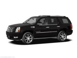 Cadillac Escalade Premium - AWD Premium 4dr SUV