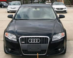 Audi A4 2.0T quattro - AWD 2.0T quattro 4dr Sedan (2L