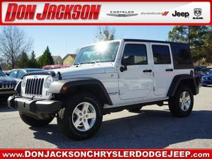 Jeep Wrangler Unlimited - 4WD 4DR SPORT
