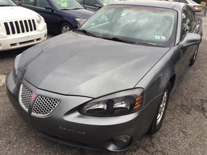 Pontiac Grand Prix GT2 - GT2 4dr Sedan