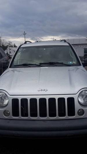 Jeep Liberty Sport - Sport 4WD 4dr SUV