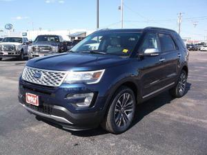 Ford Explorer Platinum - AWD Platinum 4dr SUV