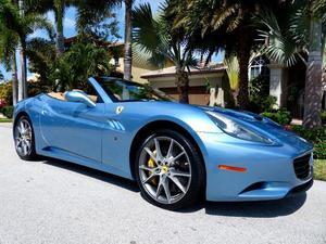 Ferrari California - 2dr Convertible