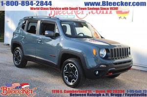 Jeep Renegade Trailhawk - 4x4 Trailhawk 4dr SUV