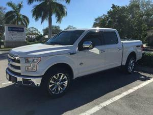 Ford F-150 King Ranch - 4x4 King Ranch 4dr SuperCrew