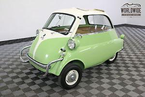 BMW ISETTA 300. FULLY RESTORED GREAT COLOR COMBO