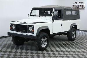 Land Rover Defender RESTORED PUMA HOOD LHD DIESEL LOW