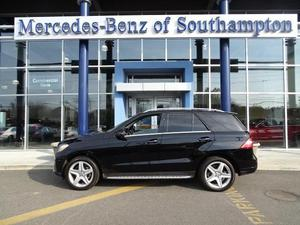 Used  Mercedes-Benz MLMATIC