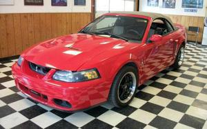 Ford Mustang SVT Cobra Base SVT Cobra 2DR Supercharged