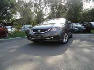 Honda Civic LX - LX 4dr Sedan 5A