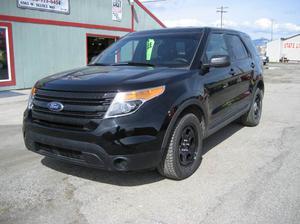Ford Explorer Police Interceptor - AWD Police