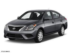 Nissan Versa 1.6 S - 1.6 S 4dr Sedan 5M