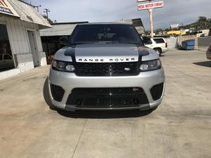 Used  Land Rover Range Rover Sport Supercharged SVR