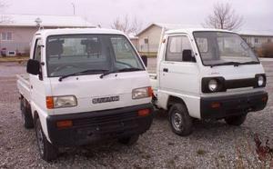 Suzuki 2 Carry Mini Trucks
