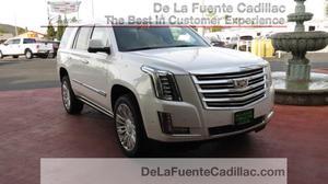 Cadillac Escalade Platinum - 4x4 Platinum 4dr SUV