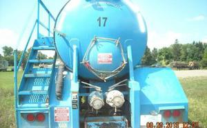 Eagle VE Vacuum Tank 130BBL