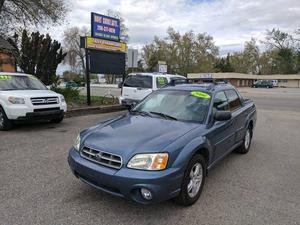 Subaru Baja Unity Cozot Cars
