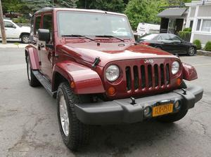 Jeep Wrangler Unlimited Sahara - 4x4 Sahara 4dr SUV