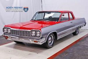 Chevrolet Bel Air/ Red Over Silver 350 V8