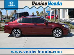 Honda Accord Hybrid EX-L - EX-L 4dr Sedan