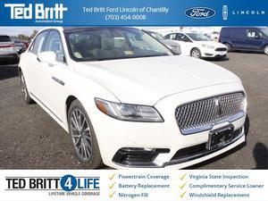 Lincoln Continental Select - Select 4dr Sedan
