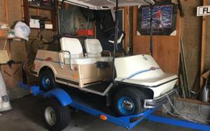 "Harley Davidson ""collector"" Golf Cart"