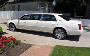 Cadillac DTS 6 Door Limousine