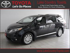 Toyota Sienna Limited Premium 7-Passenger - AWD Limited
