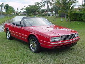 Cadillac Allante Convertible 2-Door
