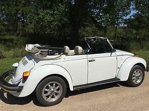 Volkswagen Beetle - Classic convertible