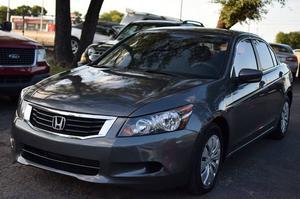 Honda Accord LX - LX 4dr Sedan 5A