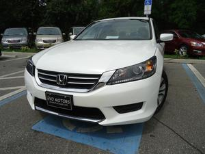 Honda Accord LX - LX 4dr Sedan CVT