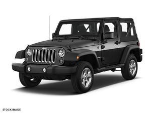 Jeep Wrangler Sahara - 4x4 Sahara 2dr SUV