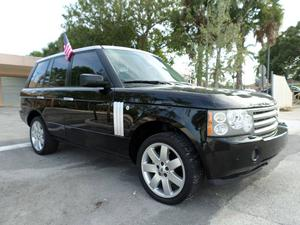 Land Rover Range Rover HSE - 4x4 HSE 4dr SUV