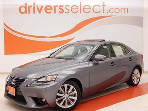 Lexus IS 250 SUNROOF For Sale In Dallas | Cars.com